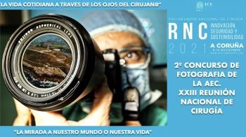 2ºCONCURSO DE FOTOGRAFÍA DE LA AEC DE LA XXIII REUNIÓN NACIONAL DE CIRUGÍA 2021