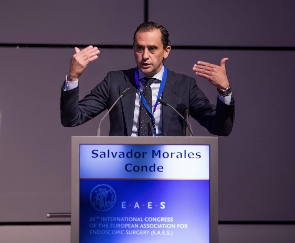 Dr. Salvador Morales-Conde nuevo Presidente EAES